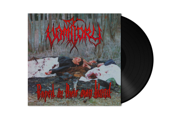VOMITORY - raped in their own blood LP black