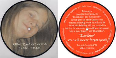 V.A. DEAD ZANDER - 4 way split Pic 7 ""