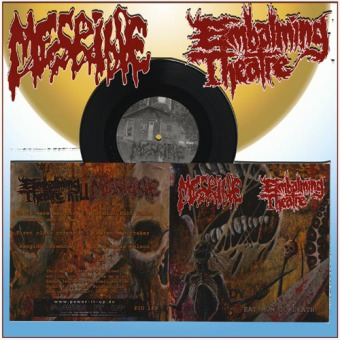 MESRINE / EMBALMING THEATRE - split 7""
