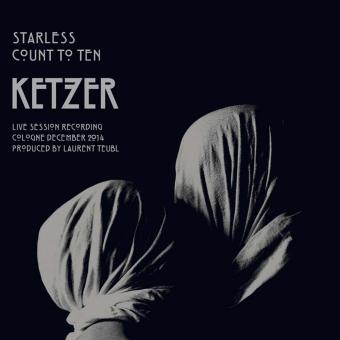 "KETZER - starless 7"" white"