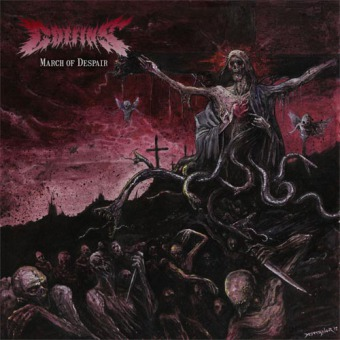 COFFINS - march of despair LP