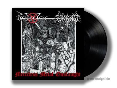 PROTECTOR / UNGOD - split LP