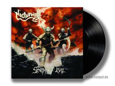 NOCTURNAL - storming evil LP
