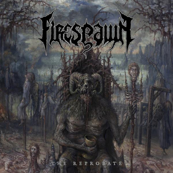FIRESPAWN - the reprobate LP+CD clear