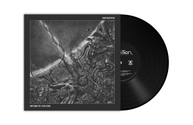 EXECRATION - return to the void LP black