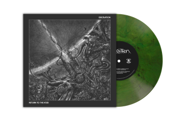 EXECRATION - return to the void LP green marbled