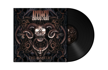ACCUSER - the mastery LP black