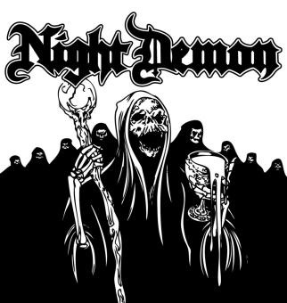 NIGHT DEMON - same LP
