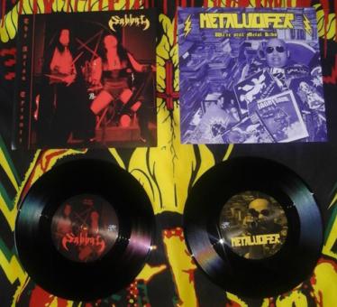 "SABBAT / METALUCIFER - split 7"""