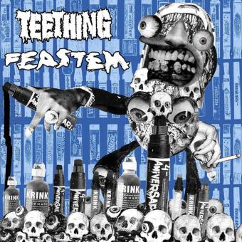 """TEETHING / FEASTEM - split 7"""""""