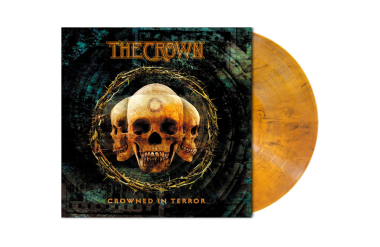 CROWN, THE - crowned in terror LP amber