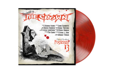 CROWN, THE - possessed 13 LP red black