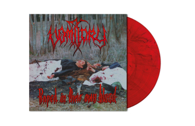 VOMITORY - raped in their own blood LP red black