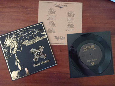 SLAEGT - black bombs 7""