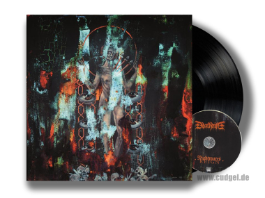 DEATHRITE - nightmares reign LP+CD