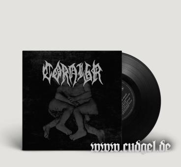 "CORNIGR - shroud of satan / death trimorph 7"""