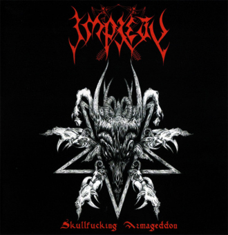 IMPIETY - skullfucking armageddon CD