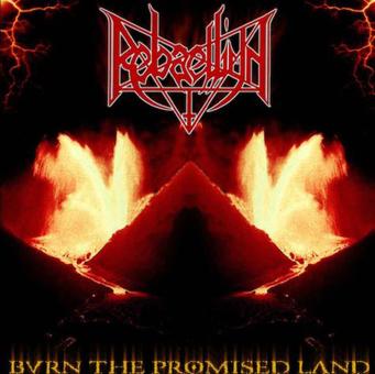 REBAELLIUN - burn the promised land CD