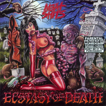 MEAT SHITS - ecstasy of death CD