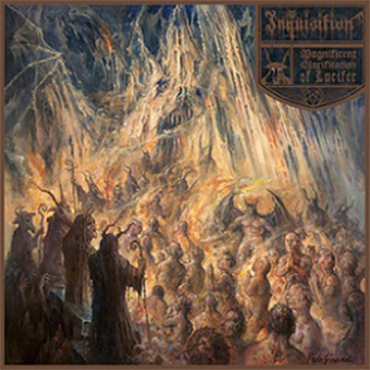 INQUISITION - magnificent glorification of lucifer DigiCD