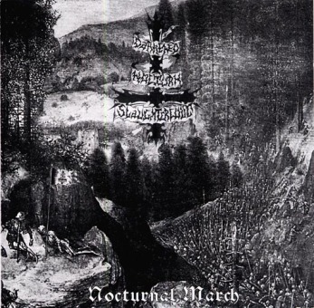 DARKENED NOCTURN SLAUGHTERCULT - nocturnal march CD