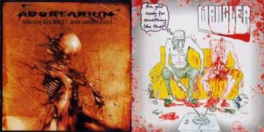 MANGLER / ABORTARIUM - split CD