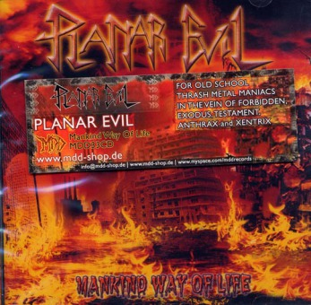 PLANAR EVIL - mankind way of life CD