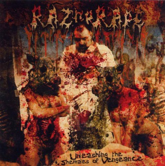 RAZOR RAPE - unleashing the shemales of vengeance CD