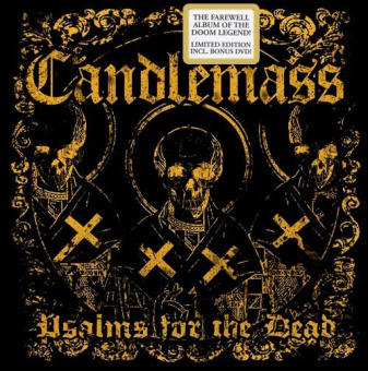 CANDLEMASS - psalms for the dead Lim.DigiCD+DVD
