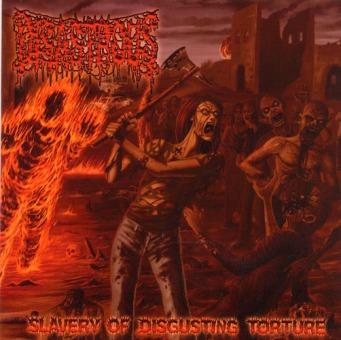 DISASTROUS - slavery of disgusting torture CD