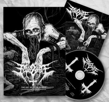 FETID ZOMBIE - vomiting in the baptismal pool CD+Book