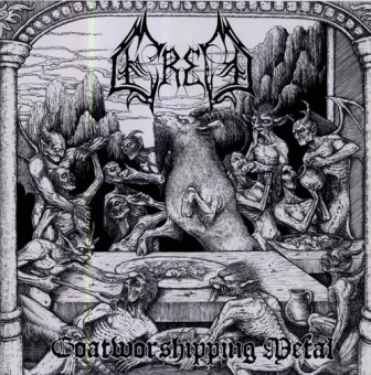 ERED - goatworshiping metal CD