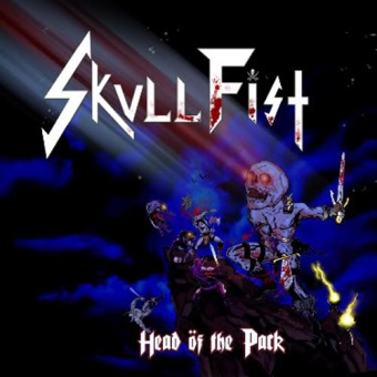 SKULL FIST - head öf the pack CD