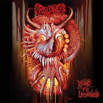 REVOLTING - visages of the unspeakable CD