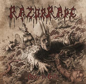 RAZORRAPE - orgy in guts CD