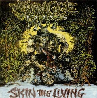 JUNGLE ROT - skin the living CD