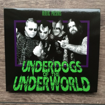 HERETIC - underdogs of the underworld DigiCD