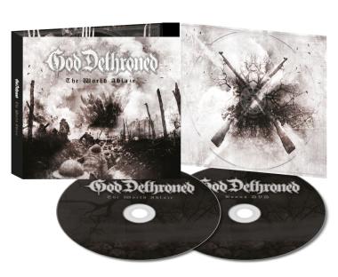 GOD DETHRONED - the world ablaze lim. DigiCD+DVD