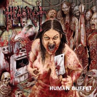 HEADROT - human buffet CD
