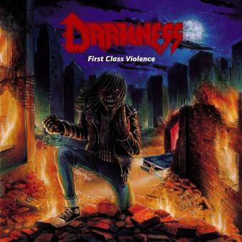 DARKNESS - first class violence CD