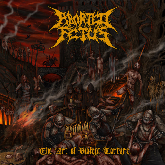 ABORTED FETUS - the art of violent torture CD