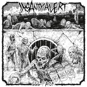 INSANITY ALERT - 666-pack CD