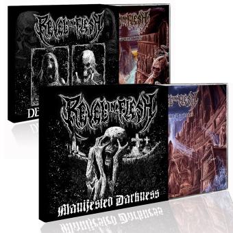 REVEL IN FLESH - manifested death CD Bundle