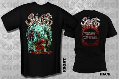 SKINLESS - deathfeast 2018 T-Shirt