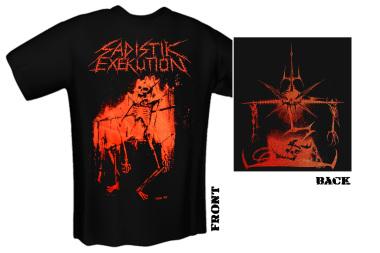 SADISTIK EXEKUTION - skull T-Shirt
