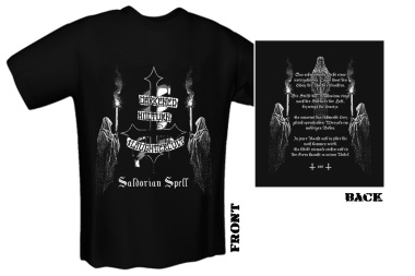DARKENED NOCTURN SLAUGHTERCULT - saldorian spell T-Shirt