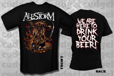 ALESTORM - we are here T-Shirt