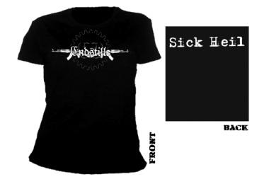 ENDSTILLE - sick heil Girlie Shirt