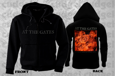 AT THE GATES - to drink from the night itself Zip Hoodie