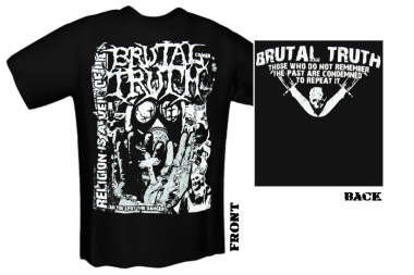 BRUTAL TRUTH - religion T-Shirt gr.M M